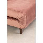 Canapé-lit 2 places en Velours Elen, image miniature 6