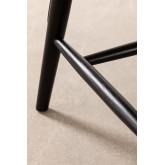 Chaise de salle à manger en bois Leila Elm, image miniature 6
