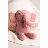 Éléphant en peluche en coton Dumbi, image miniature 2