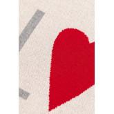 Couverture à carreaux en coton Cuore, image miniature 4