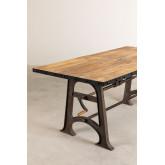 Table à manger extensible en bois (184-236x91 cm) Tich, image miniature 925797