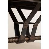 Table à manger extensible en bois (184-236x91 cm) Tich, image miniature 925801