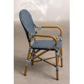 Chaise de jardin en osier synthétique Alisa, image miniature 2