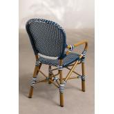 Chaise de jardin en osier synthétique Alisa, image miniature 3