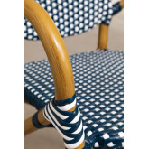 Chaise de jardin en osier synthétique Alisa, image miniature 4