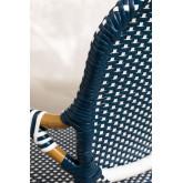 Chaise de jardin en osier synthétique Alisa, image miniature 5