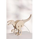 Lampe de table pour enfants Dino, image miniature 1