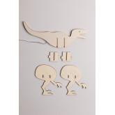 Lampe de table pour enfants Dino, image miniature 5