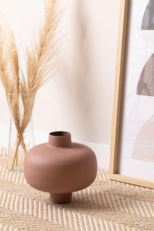 Vase en métal Akira, image de la galerie 1