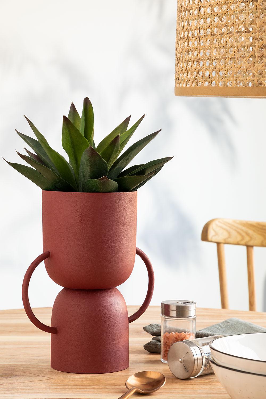 Vase en métal Rob, image de la galerie 1