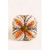 Lot de 2 poignées en céramique Flowe, image miniature 2