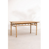 Table en bambou (150x80 cm) Marilin, image miniature 2