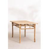 Table en bambou (150x80 cm) Marilin, image miniature 3