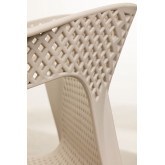 Chaise d'extérieur Frida avec accoudoirs, image miniature 5