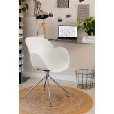 Chaise de Bureau avec Accoudoirs Tech, image miniature 6