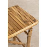 Table d'extérieur en bambou Marie, image miniature 4
