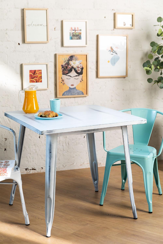 Table LIX Vintage (80x80), image de la galerie 1
