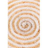 Tapis rond en jute naturel (Ø120) Crok, image miniature 4