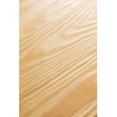 Table à manger carrée en bois (80x80) LIX Brossé, image miniature 6