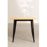 Table LIX Vintage en Bois (80x80), image miniature 3