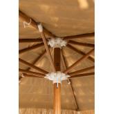 Parasol en acier (Ø200 cm) Rhos, image miniature 4