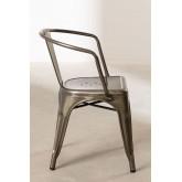 Chaise avec accoudoirs LIX Brossée, image miniature 3