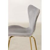 Chaise de salle à manger en velours Uit, image miniature 3