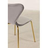 Chaise de salle à manger en velours Uit, image miniature 4