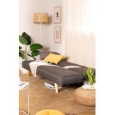 Canapé-lit 3 Places en Lin et Tissu Orbun Colors, image miniature 2