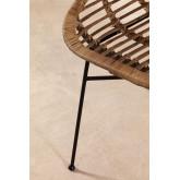 Chaise de salle à manger en rotin Nesse, image miniature 4