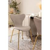 Chaise de salle à manger en velours Uit, image miniature 1