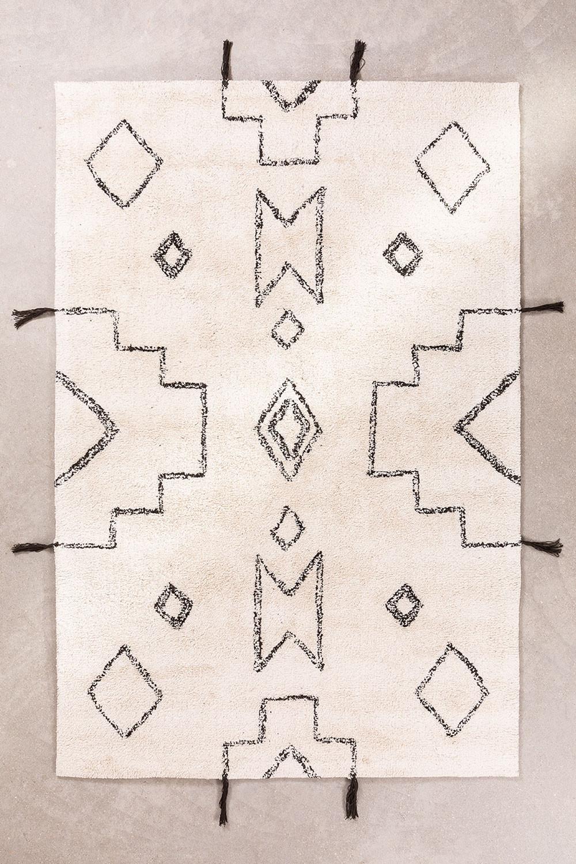 Tapis en coton (180x120 cm) Reddo, image de la galerie 1