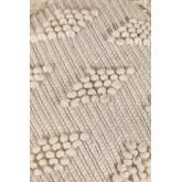 Pouf carrée en laine Drutt, image miniature 4