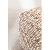 Pouf de coton carrée Finx, image miniature 4