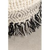 Pouf de laine carrée Meli, image miniature 4