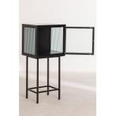 Armoire de réception en métal et verre Vertal, image miniature 3