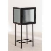 Armoire de réception en métal et verre Vertal, image miniature 2