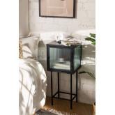 Armoire de réception en métal et verre Vertal, image miniature 1