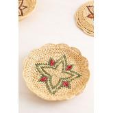 Lot de 3 assiettes décoratives Siona, image miniature 5