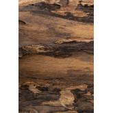 Porte-manteau mural en bois recyclé Trunc, image miniature 5