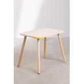 Table rectangulaire en bois (60x40 cm) Kandy Kids, image miniature 3