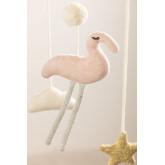 Carrousel pour lit de bébé en coton Dina Kids, image miniature 4