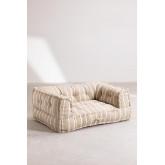 Canapé modulable en coton Dhel Boho, image miniature 2