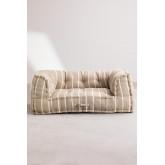 Canapé modulable en coton Dhel Boho, image miniature 3