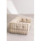 Canapé modulable en coton Dhel Boho, image miniature 4