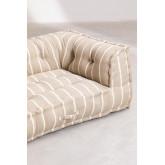 Canapé modulable en coton Dhel Boho, image miniature 5