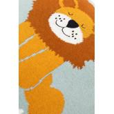 Coussin carré en coton (35x35 cm) Meru Kids, image miniature 4