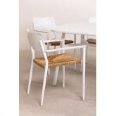 Pack 2 chaises de jardin en aluminium Amadeu, image miniature 3