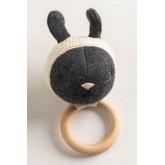 Hochet en coton pour enfants Lambert , image miniature 1