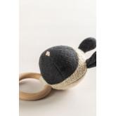 Hochet en coton pour enfants Lambert , image miniature 2